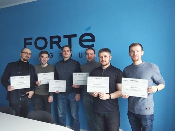 Forte Group QA certificate